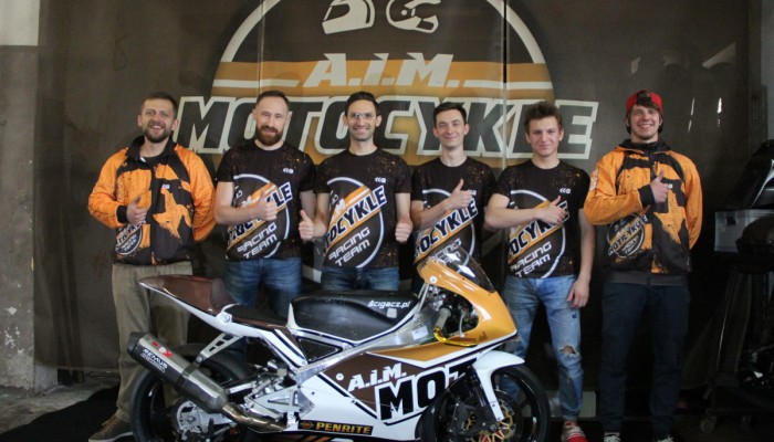 AIM Motocykle Racing Team gotowy na sezon 2017