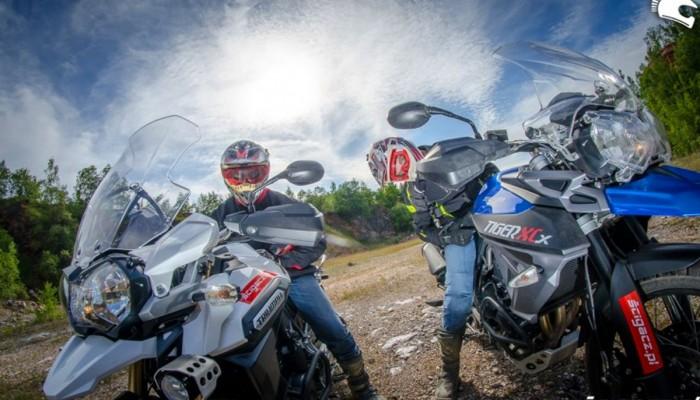 Motocyklowy wyjazd na Mazury w maju - motocykle testowe gratis