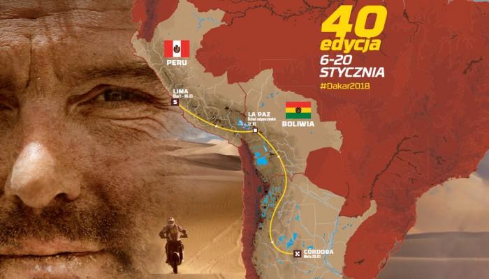 Dakar 2018 - znamy szczegóły 40-stej edycji rajdu