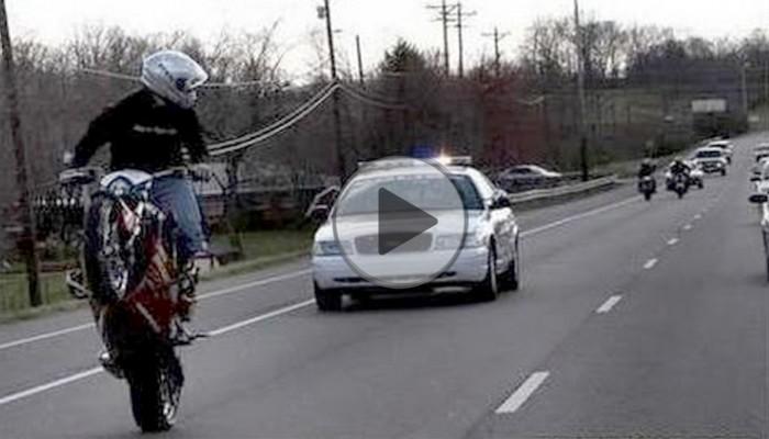 Jak uciec i ukryć się przed policyjnym pościgiem na motocyklu?