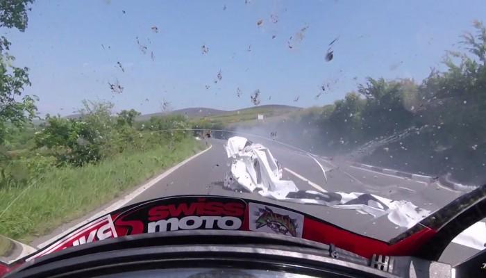 To ostatni wyścig Davey Lamberta - śmiertelny wypadek na TT 2017
