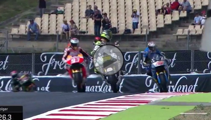 MotoGP - Katalonia - Jack Miller zabłądził na torze...