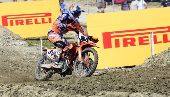 Błotniste Grand Prix Rosji - Mistrzostwa Świata FIM Motocross