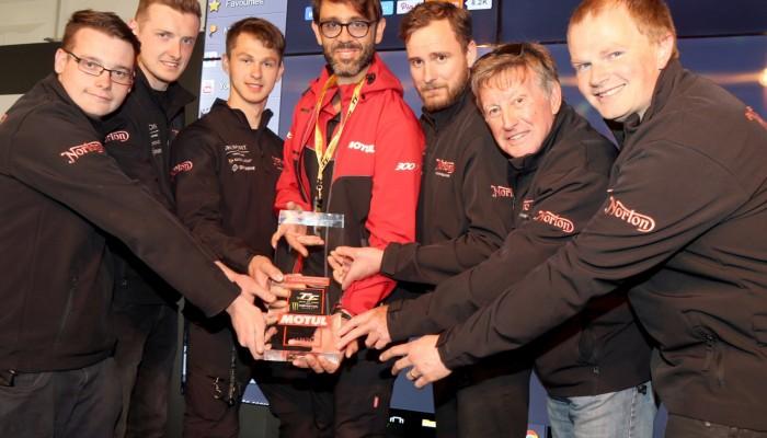 Isle of Man TT 2017: nagroda specjalna dla Nortona