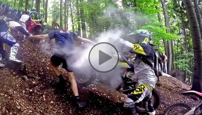 Beskid Hero: oficjalna relacja video z pierwszych w historii zawodów Hard Enduro w polskich górach