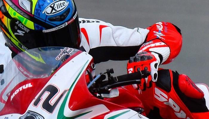WSBK: Victoria Ducati, Victoria Melandri, Victoria Italia, czyli 2. wyścig w Misano