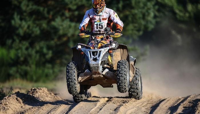 Arkadiusz Lindner na starcie Breslau Poland Rallye!