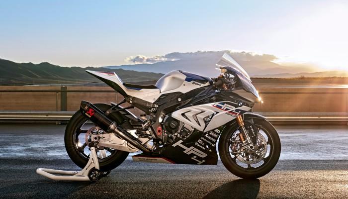 sportowy motocykl widok z