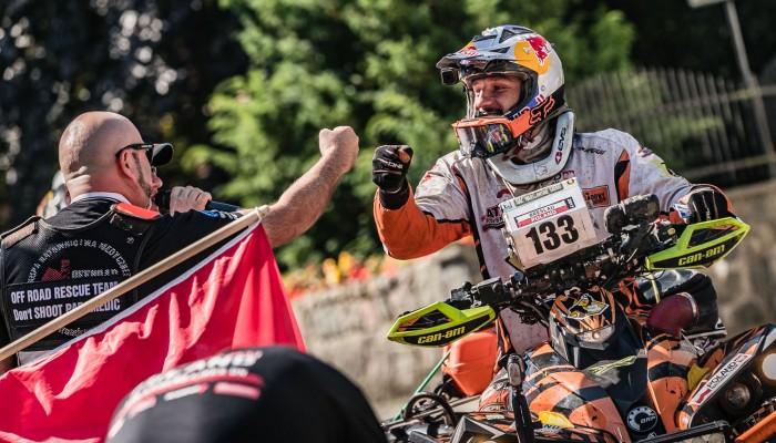 Lindner wygrywa dwa pierwsze oesy maratonu na Breslau Rallye