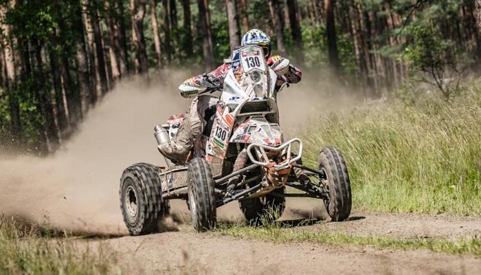 Wypadek quadowca na trasie 6. etapu Breslau Rallye
