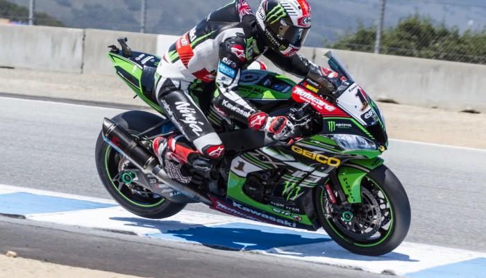 World SBK - Laguna Seca - drugi wyścig w Stanach Zjednoczonych i totalna dominacja Kawasaki