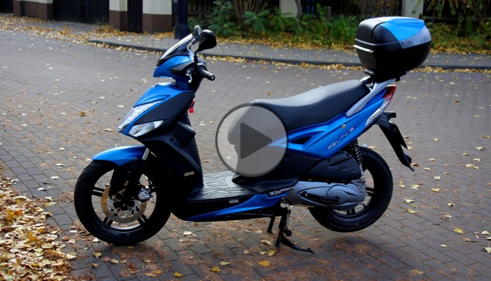 Kymco Agility 16+ 125 (video, opis i cena)