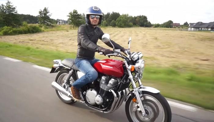 Honda CB 1100 EX - wehikuł czasu [test video]