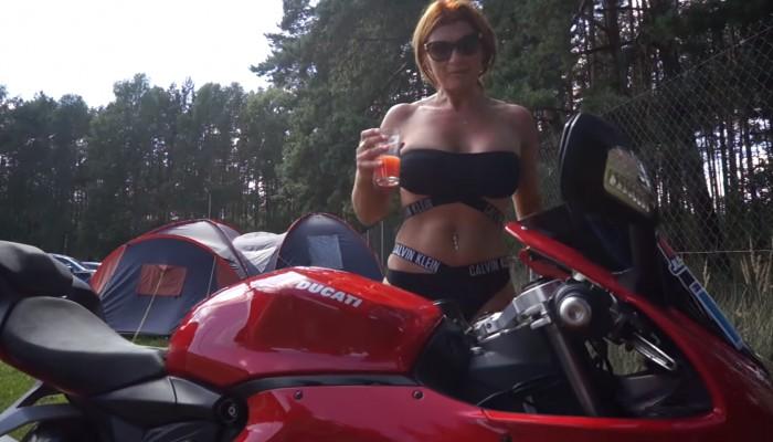 Ducati Red Track #2 w Starym Kisielinie - relacja video