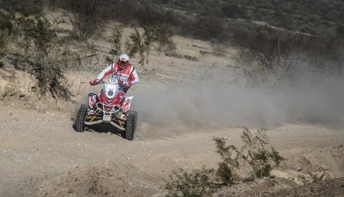 Rafał Sonik liderem Desafio Ruta 40 po wymagającym etapie