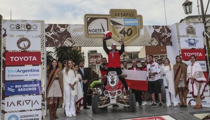 Sonik wjechał na podium Desafio Ruta 40