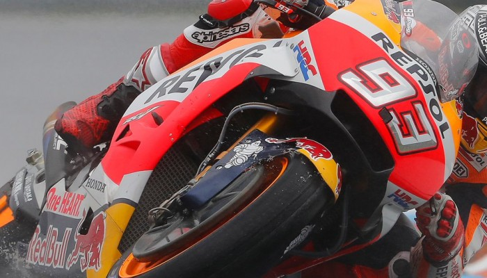MotoGP Misano - Dancing in the Rain. MotoGP vs. Deszcz - 17:6