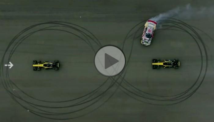 Bartek Ostałowski pokazuje kierowcy F1 jak się jeździ…