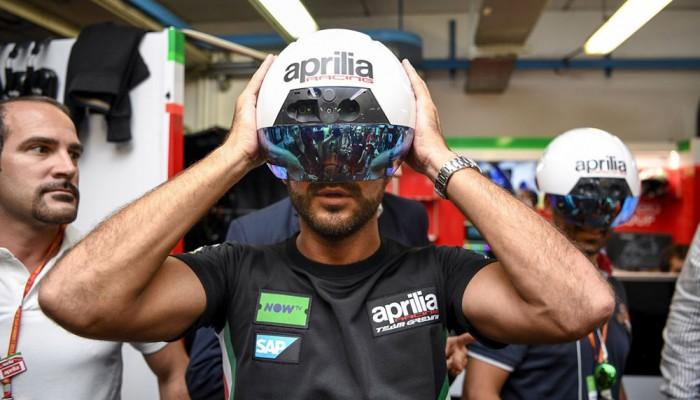 DAQRI dla Aprilia Racing, czyli wirtualna rzeczywistość wdziera się przebojem w świat wyścigów