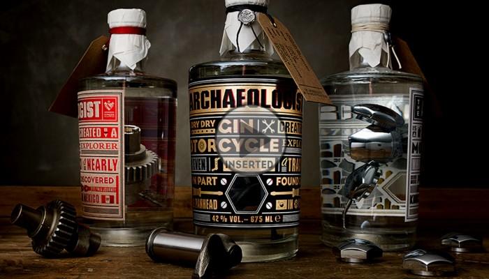 The Archaeologist, czyli kultowy Harley zanurzony w alkoholu