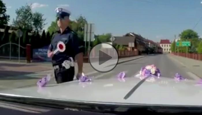 Gdyby motocyklista się zatrzymał, nie byłoby problemu - czyli akcja odwetowa policji