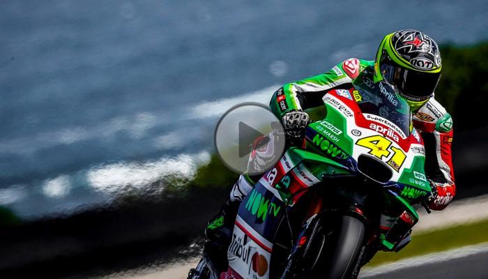 Kontuzjowany Aleix Espargaro wycofał się z GP Malezji