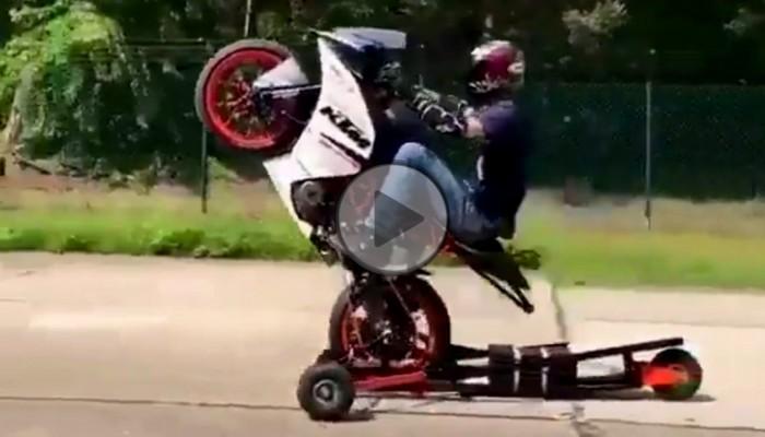 Wózek do nauki wheelie - hit czy kit?