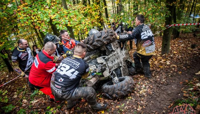 Finał Przeprawowych Mistrzostw i Pucharu Polski ATV PZM 4x4 Terenowiec 2017 - tytuły rozdane!