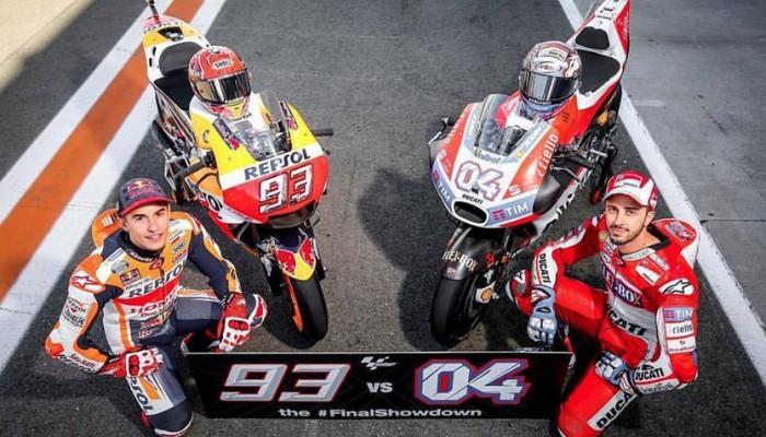 MotoGP - Grand Prix Walencji - Finalne starcie tytanów
