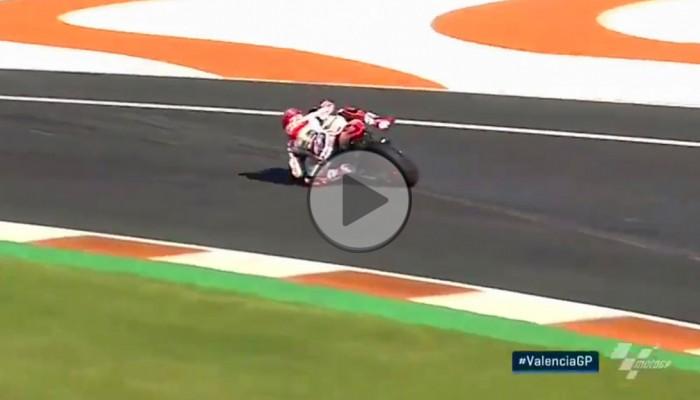 Najlepsza akcja sezonu MotoGP - wyjście z opresji Marqueza