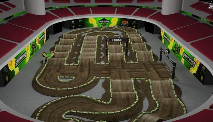 Tor na Mistrzostwa Europy w Supercrossie