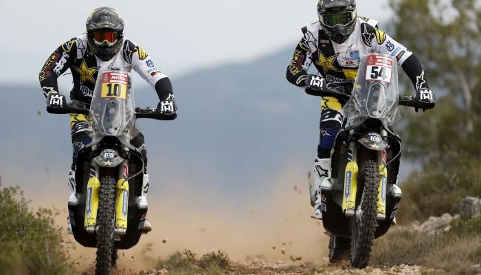Husqvarna przedstawiła swoich zawodników na Rajd Dakar