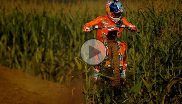 Buszujący w kukurydzy - energetyczny film motocrossowy