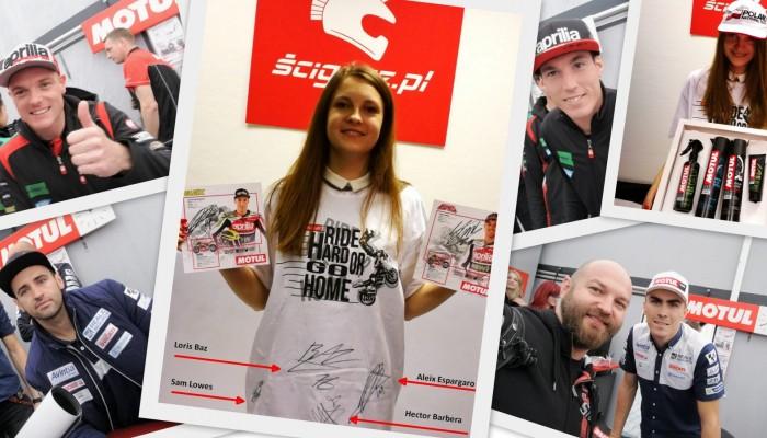 Aukcja Ścigacza i WOŚP - zgarnij autografy zawodników MotoGP
