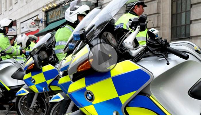 Police BMW R1200RT z