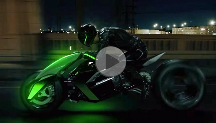 Kawasaki Concept J akcja z