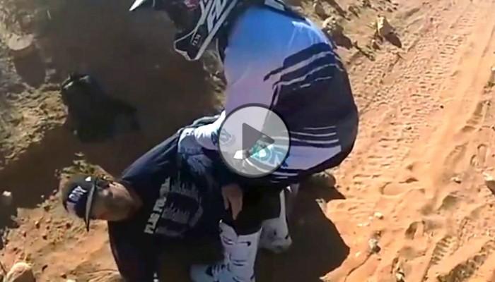 Wypadek, dwa dni na pustyni i szczęśliwe ocalenie