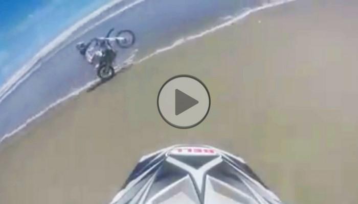 Motocyklista na fali, czyli jak nie igrać z oceanem