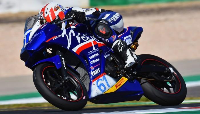 Daniel Blin walczy o start w motocyklowych mistrzostwach Włoch