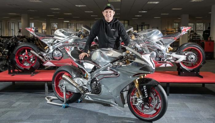 John McGuinness wraca na Isle of Man na motocyklu Norton