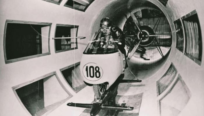 Moto Guzzi i pierwszy motocyklowy tunel aerodynamiczny z