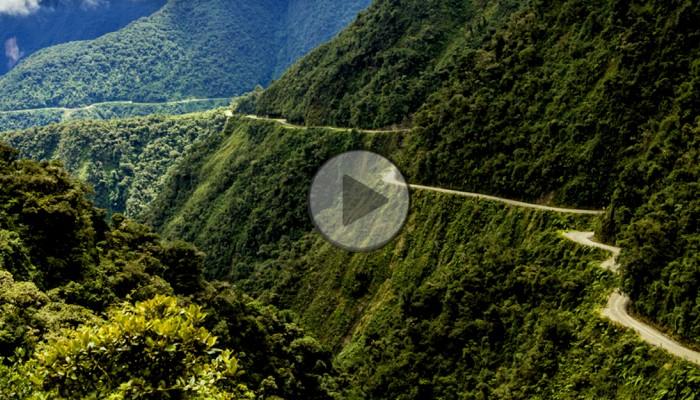 El Camino de la Muerte. Motocyklowa przygoda na najbardziej przerażającej drodze świata [FILM]