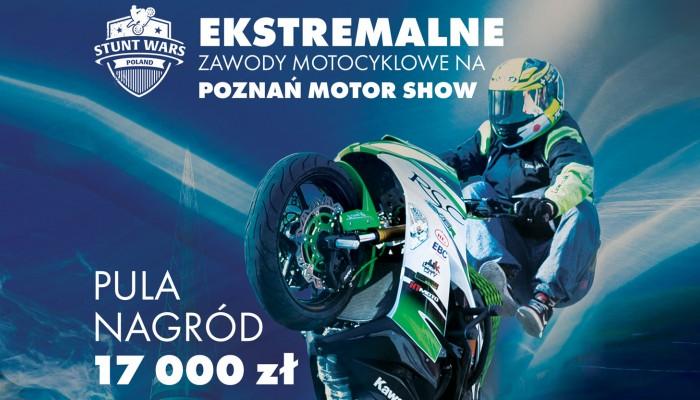 Stunt Wars Poland na Poznań Motor Show