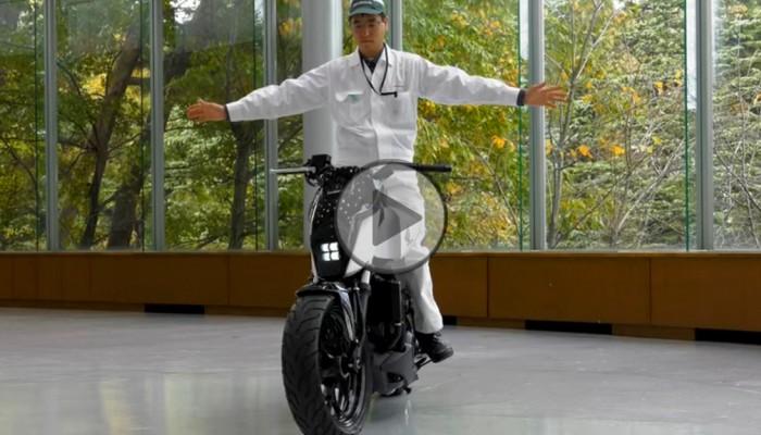Motocykl, który stoi sam. Honda składa dokumenty patentowe na niezwykłą technologię