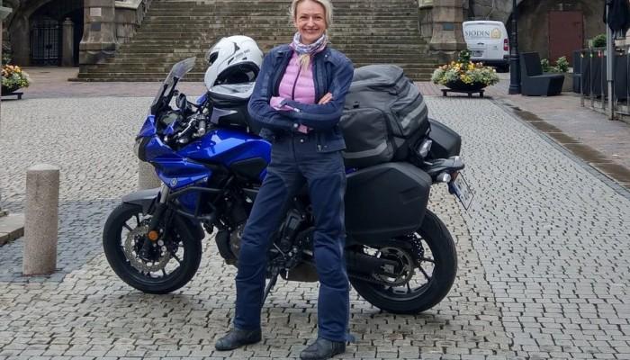 Anna Jackowska - Kobieta na Motocyklu i Yamaha w sezonie 2018