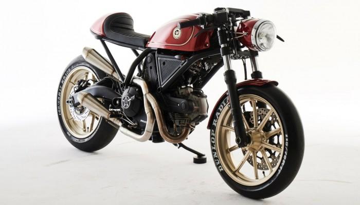 Ducati Custom Rumble - polski projekt o krok od zwycięstwa w pierwszym etapie!