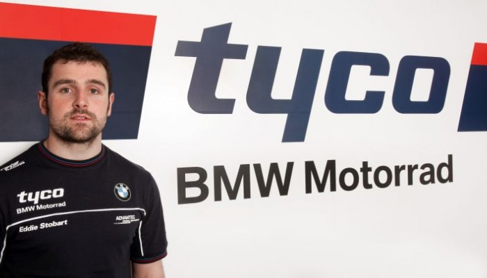 Michael Dunlop na BMW w Isle of Man TT