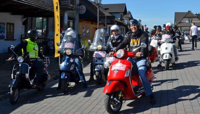 Lanckorona Rally 2018 - tysiąc km Vespą GTS 300 w weekend