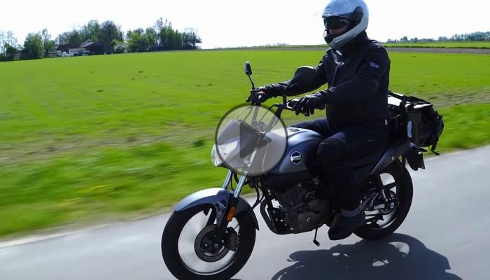 Junak RZ125 - test video