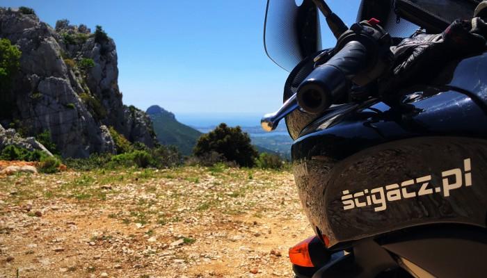 Motocyklem przez Sardynię - dzień trzeci